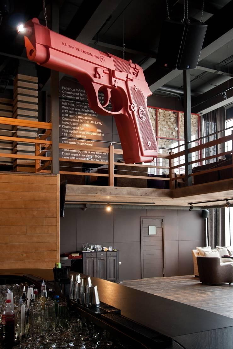 Ресторан: Бары и клубы в . Автор – S,Y,D interiors, Эклектичный
