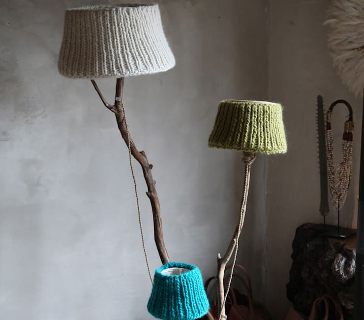 WARM WOOL:  Woonkamer door Dutch Dilight