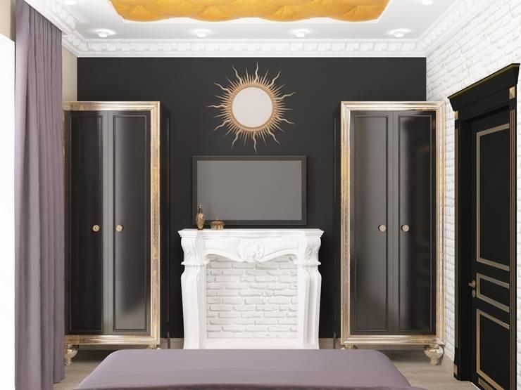 Спальня ар-деко: Спальни в . Автор – Kalista,