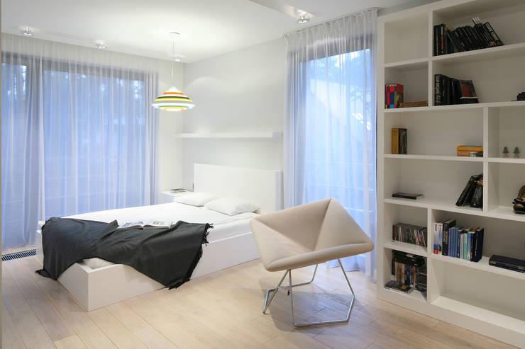 Sypialnia młodzieżowa: styl , w kategorii Sypialnia zaprojektowany przez living box