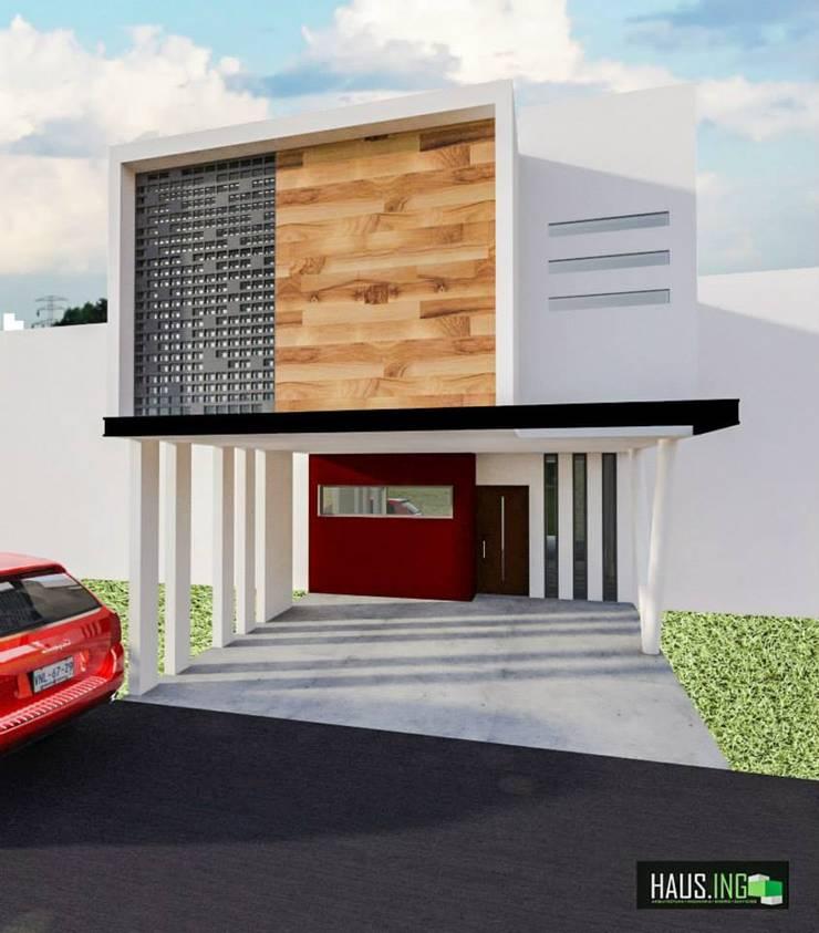 CASA SO: Casas de estilo  por hausing arquitectura