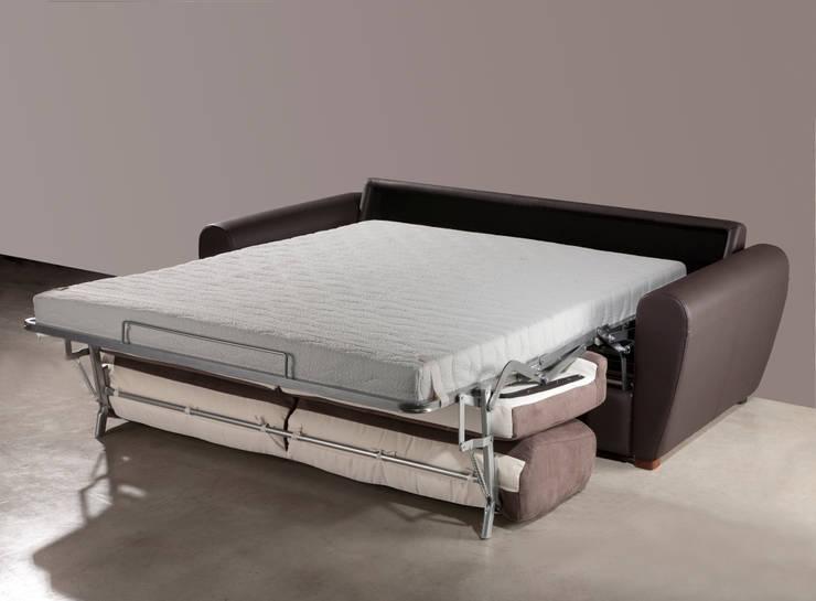 Gamamobel Sofa-Bed: Club: Dormitorios de estilo  de Gamamobel Spain