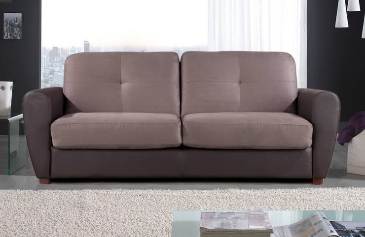 Gamamobel Sofa-Bed: Club: Salones de estilo  de Gamamobel Spain