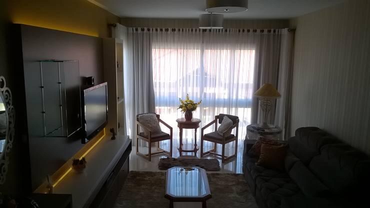 sala estar: Salas de estar  por casulo arquitetura design