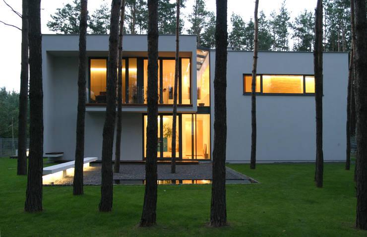Дома в . Автор – Ingarden & Ewý Architekci