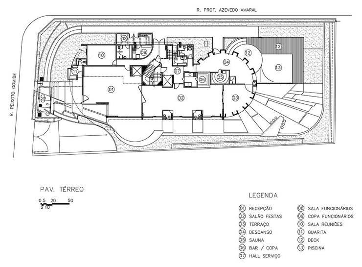 Edifício Ducale | Residencial - Rua Peixoto Gomide:   por ARQdonini Arquitetos Associados