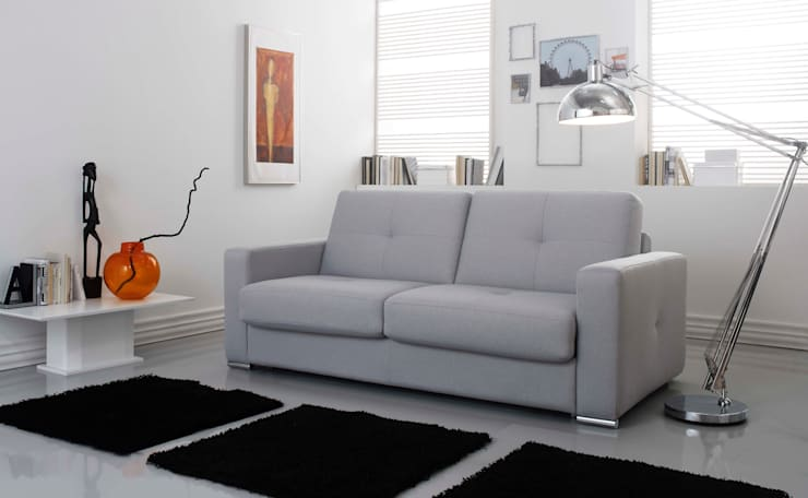 Gamamobel Sofa-Bed: Sleep 2: Salones de estilo  de Gamamobel Spain