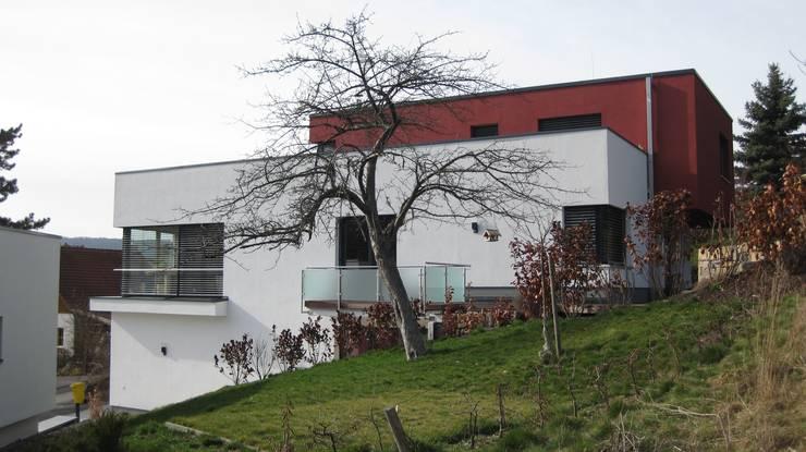 Ostansicht:  Häuser von ETB BAUPROJEKT Jena GmbH
