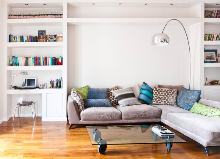 غرفة المعيشة تنفيذ DFG Architetti