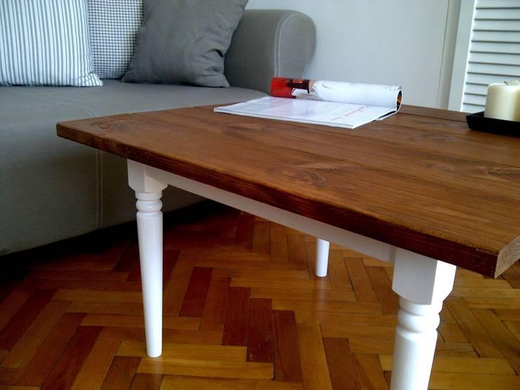 Stolik kawowy: styl , w kategorii Salon zaprojektowany przez Agnieszka Gamus