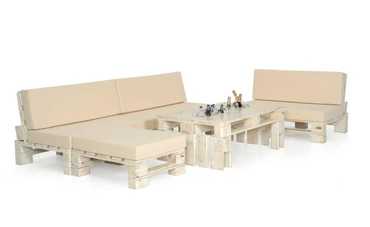 Conjunto huerto xl Blanco: Jardín de estilo  de info4229