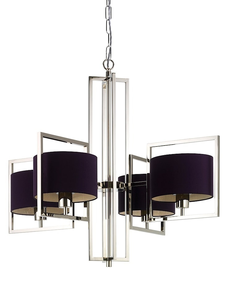 Conniston Chandelier:  Living room by Luku Home