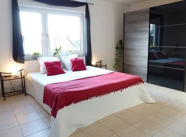 Schlafzimmer nachher:   von Immobilien Podium