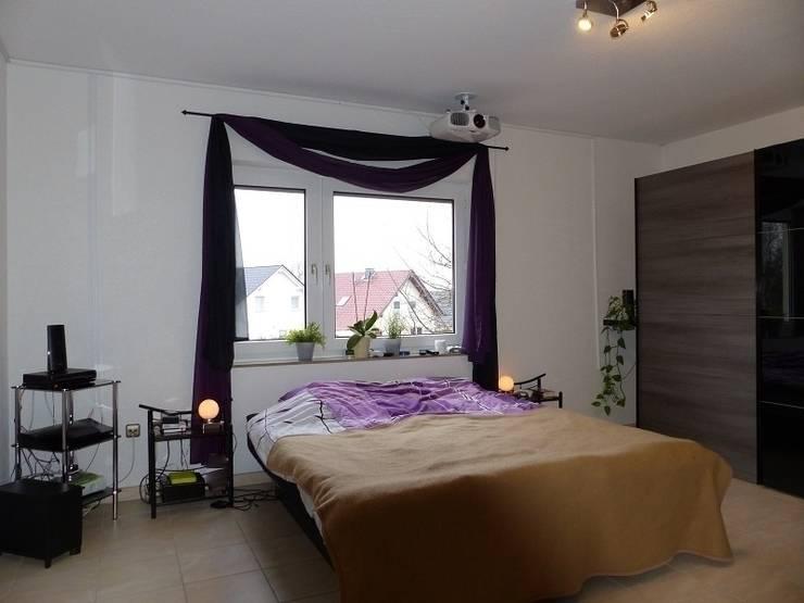 Schlafzimmer vorher:   von Immobilien Podium