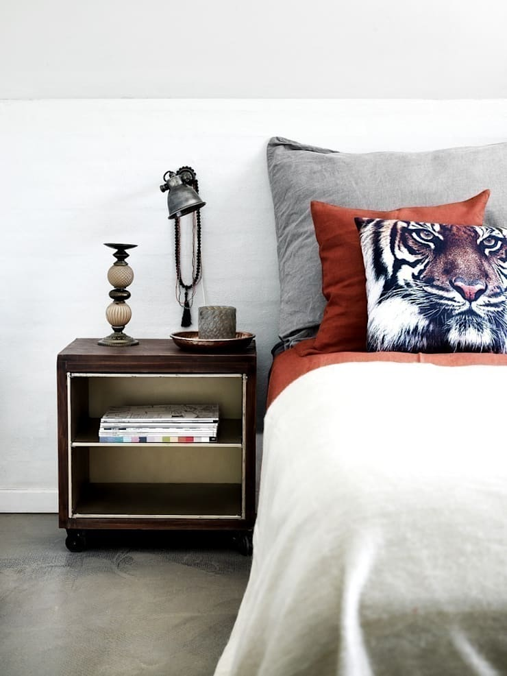 Borough Bedside Table:  Bedroom by Luku Home