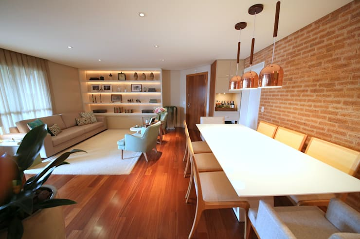 Dining room by MeyerCortez arquitetura & design