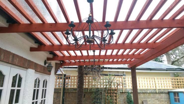 Mediterainan Garden design and build :   by Progressive Design London
