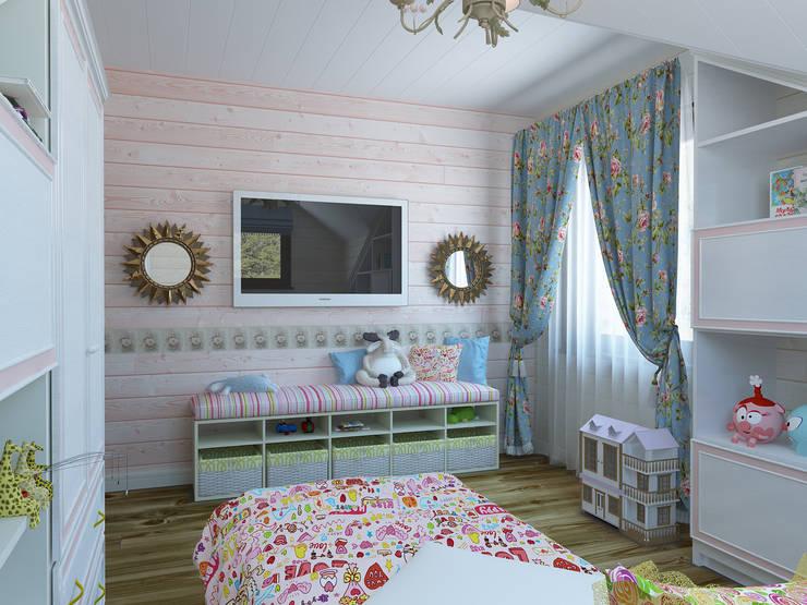 Dormitorios infantiles de estilo  por Универсальная история