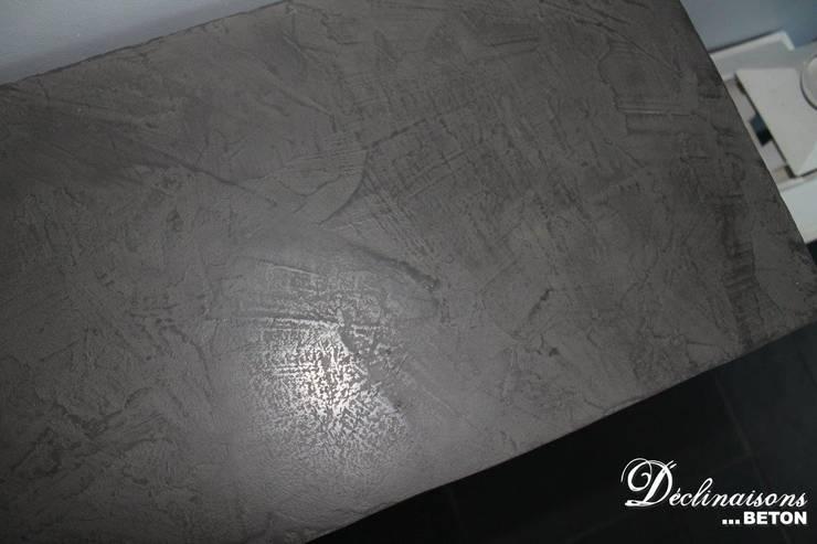 Meuble en b ton cir mortex par d clinaisons beton homify - Meuble en beton cire ...