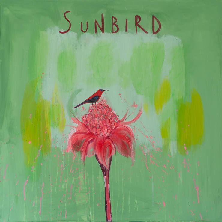 SUNBIRD:  Artwork by Clare Haxby Art Studio