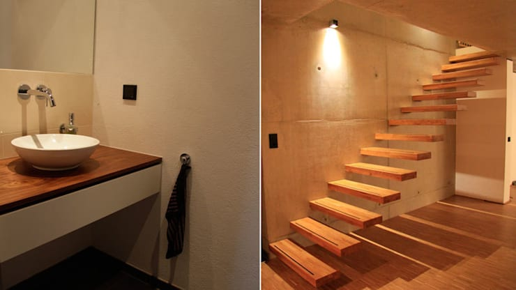Corridor, hallway by Scholz&Fuchs Architekten