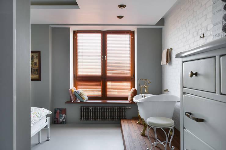 Квартира: Ванные комнаты в . Автор – частная практика