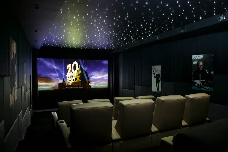 007 Home Cinema:  Media room by Finite Solutions