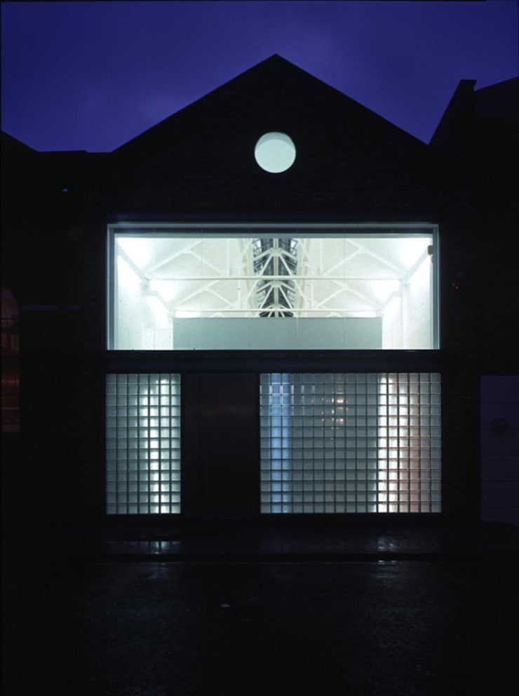 Loman Street - exterior at night:  Offices & stores by Syte Architects