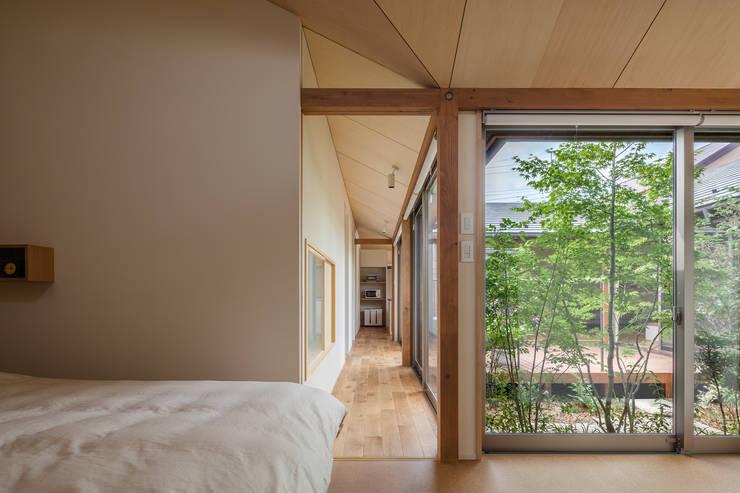 DONUT: 株式会社リオタデザインが手掛けた寝室です。