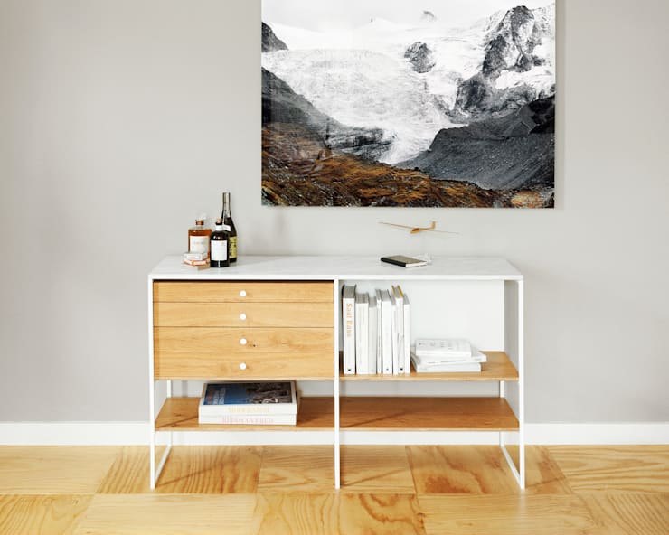 600 Credenza:  Woonkamer door Modiste Furniture