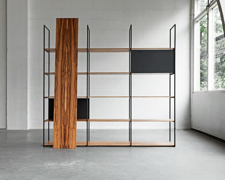900 Shelving System:  Woonkamer door Modiste Furniture