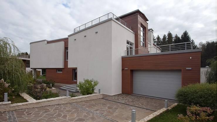 Projekty, nowoczesne Domy zaprojektowane przez NefaProject