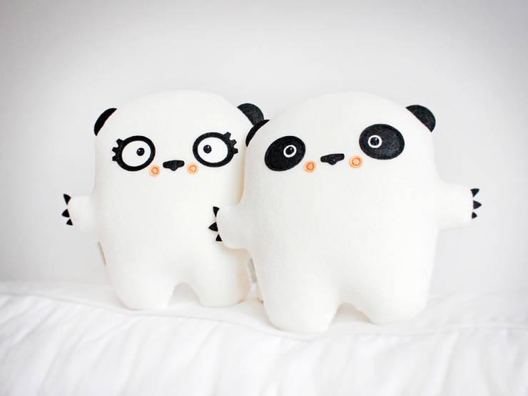 Pan i Pani Panda: styl , w kategorii Pokój dziecięcy zaprojektowany przez BAMBAKI