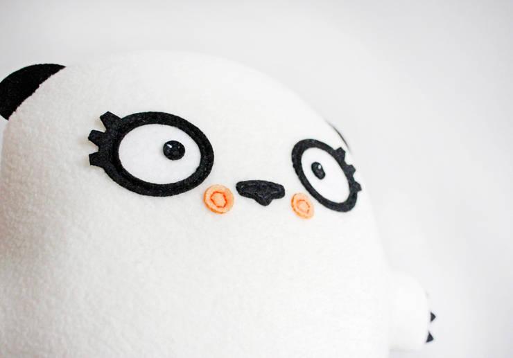 Pani Panda: styl , w kategorii Pokój dziecięcy zaprojektowany przez BAMBAKI