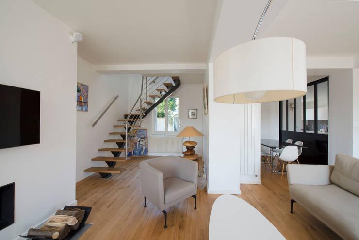 غرفة المعيشة تنفيذ Hélène de Tassigny