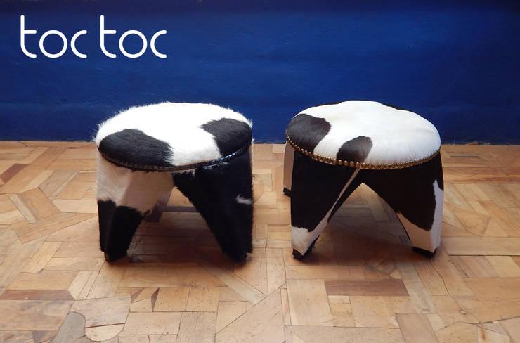 Banco Shu Vaca - Opciones: Hogar de estilo  por TocToc - Muebles y Objetos Argentinos