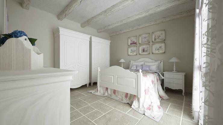 Projekty,  Sypialnia zaprojektowane przez De Vivo Home Design
