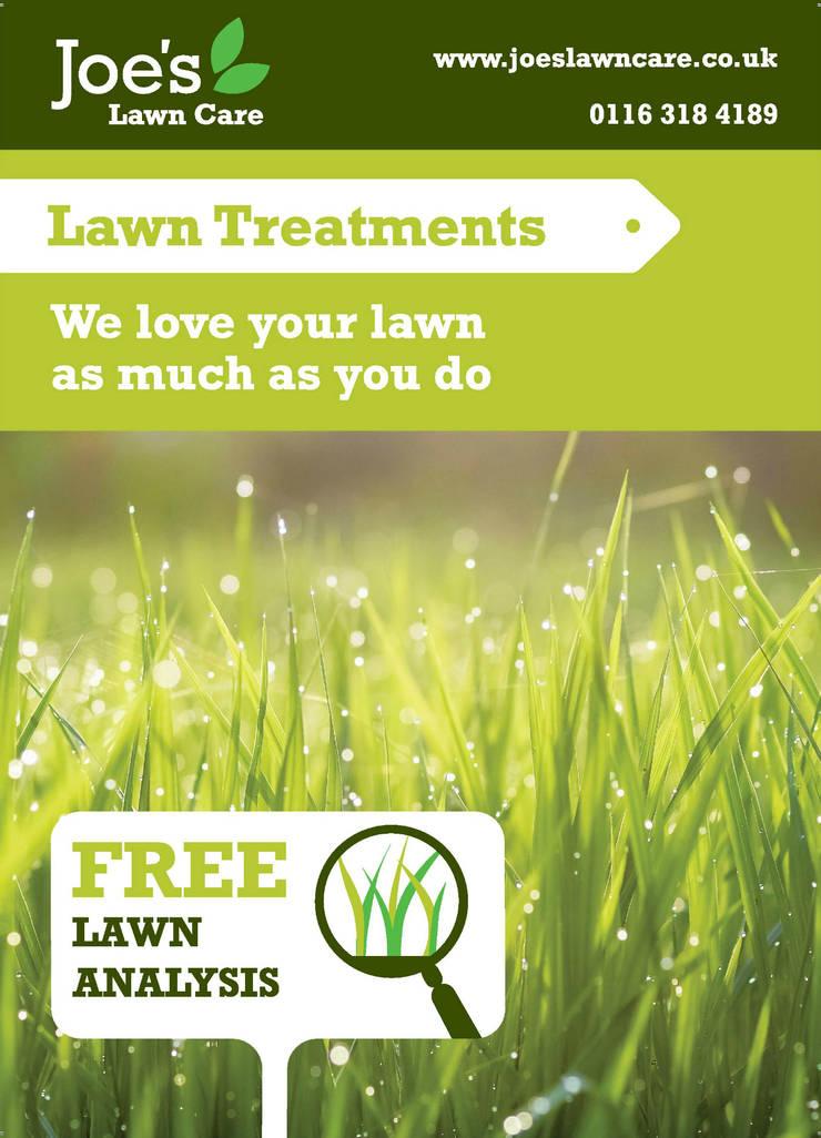 Lawn Treatments:  Garden by Joe's Lawn Care