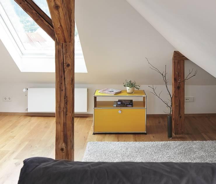 modern Living room by USM Möbelbausysteme