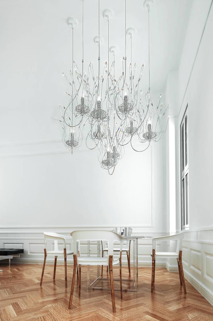 CANDLES AND SPIRITS SQUADRA,  Brand Van Egmond:  Artwork by Future Light Design
