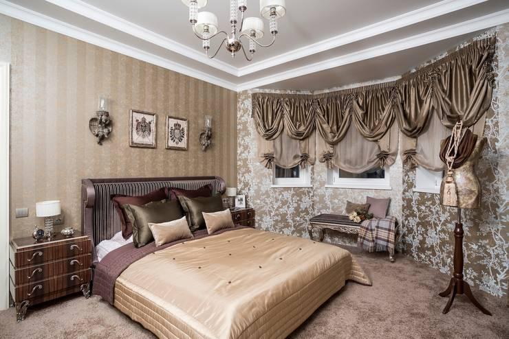 Спальня:  в . Автор – Архитектурно-Строительная Компания 'SM-Home'