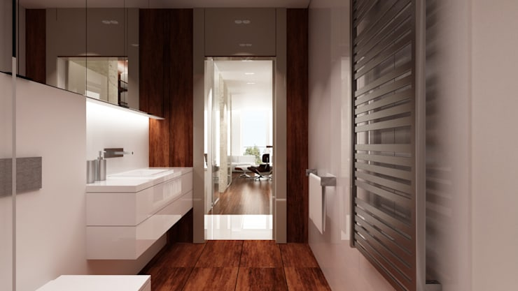 Minimalist style bathrooms by living box Minimalist