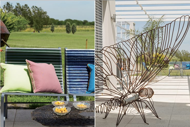 de estilo  por La Casa G: La Casa Sustentable en Argentina, Moderno