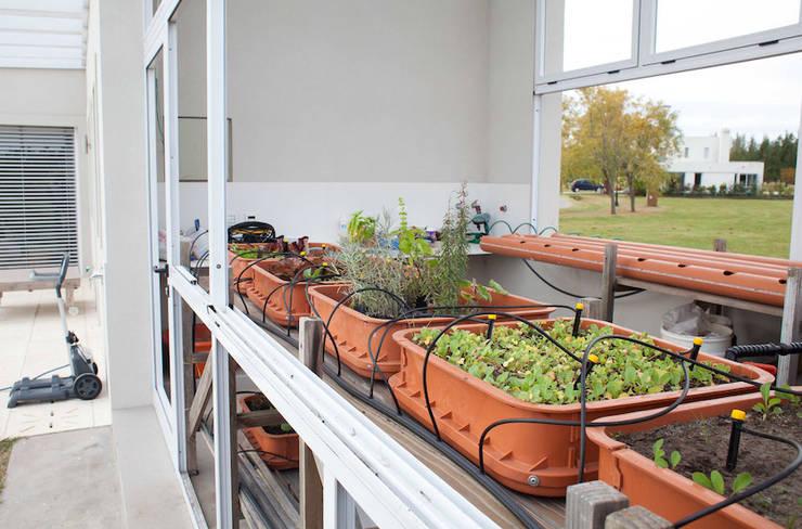 Projekty,  Ogród zaprojektowane przez La Casa G: La Casa Sustentable en Argentina