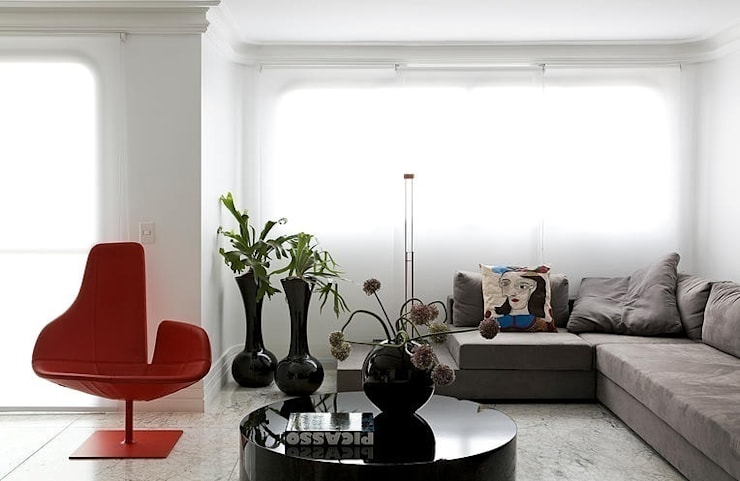 Living room by STUDIO CAMILA VALENTINI, Modern