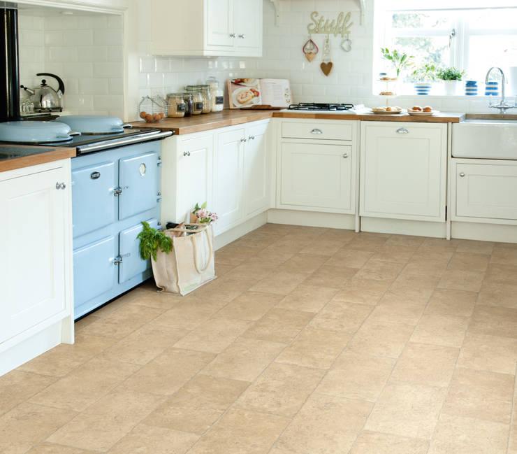 French Limestone:  Walls & flooring by Avenue Floors