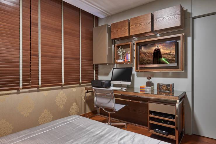 Dormitorios de estilo  por Gislene Lopes Arquitetura e Design de Interiores