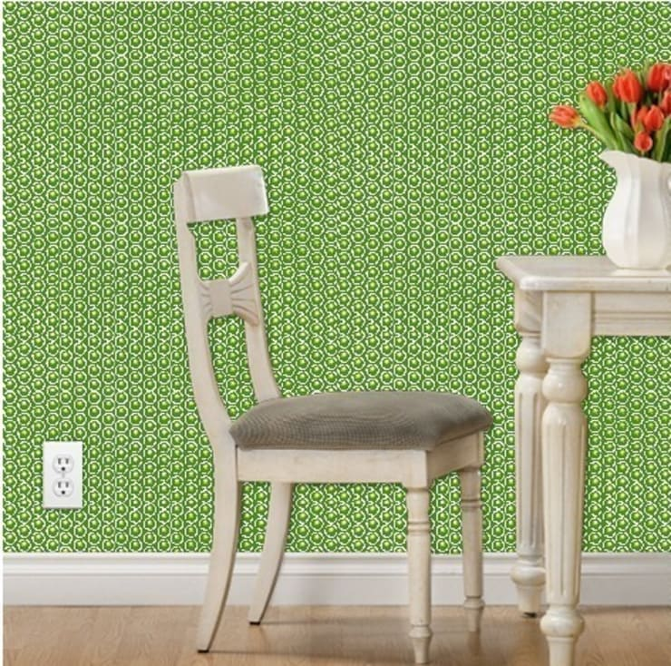 Geo Dot Complex Mojito Small Scale :  Walls & flooring by Court & Spark