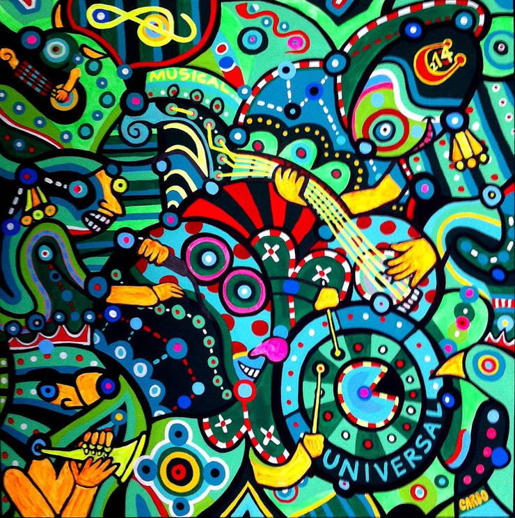 Universal Musical: Arte de estilo  por Jimmy Carbo