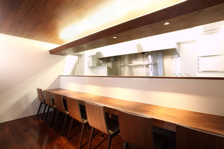 Gastronomy by 4建築設計事務所, Modern
